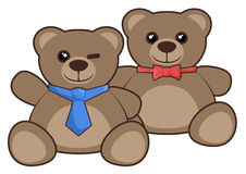 Friendship bear Royalty Free Stock Photography
