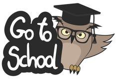 Go to school Stock Image