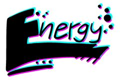 Graffiti energy Stock Image
