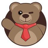 Hello bear Royalty Free Stock Image