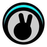 Hello hand icon vector illustration