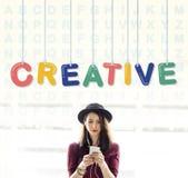 Creative Design Ideas Creativity Imagination Innovation Concept Stock Image