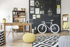 Creative design ideas tied together Stock Images