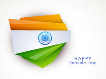Creative design for Indian Republic Day celebration. Royalty Free Stock Photos