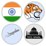 Indian tourism agency Royalty Free Stock Photo