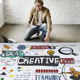 Creative Design Innovation Inspire Concept Royalty Free Stock Images
