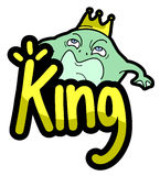 King frog Royalty Free Stock Photos