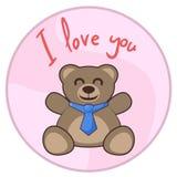 Love bear Royalty Free Stock Photo