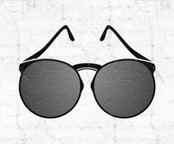 Nice sunglasses illustration Royalty Free Stock Photography