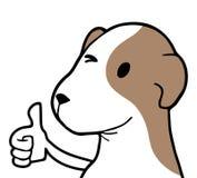 Okay dog gesture vector illustration