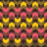 Creative design pattern. Creative mutli color design pattern in dark background Royalty Free Stock Photography