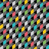 Creative design pattern. Creative mutli color design pattern in dark background Royalty Free Stock Photos