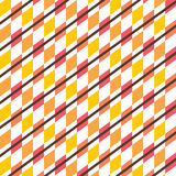 Creative design pattern. Creative square design pattern in white background Royalty Free Stock Image