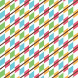 Creative design pattern. Creative square design pattern in white background Stock Photos
