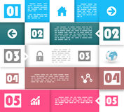 Creative design pattern Stock Photo