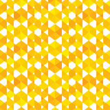 Creative design pattern. In yellow color background Stock Photos