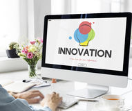 Creative Design Process Thinking Innovation Concept Stock Photos