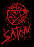 Satan cover Royalty Free Stock Photography