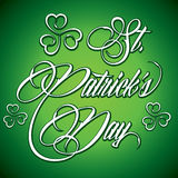 Creative design for St  Patricks Day Stock Image