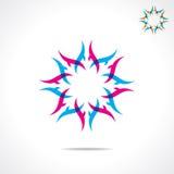 Creative design symbol. Stock Royalty Free Stock Image