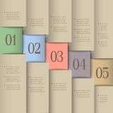 Creative design template Stock Photos
