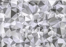 Creative Design Templates. Light Gray White Polygonal Background, Creative Design Templates Stock Photo