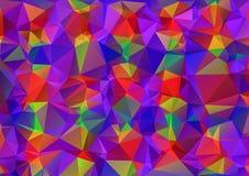 Creative Design Templates. Multicolor  rainbow polygonal Geometric background. Triangular design Stock Photo