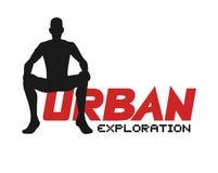 Urban exploration illustration. Creative design of urban exploration illustration Stock Images