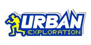 Urban exploration illustration. Creative design of urban exploration illustration Royalty Free Stock Photography