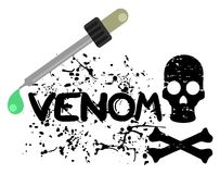 Venom icon Royalty Free Stock Images