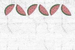 Watermelon illustration Royalty Free Stock Photos