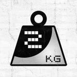 Weight symbol Stock Photos