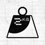 Weight symbol Stock Images