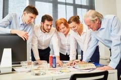 Creative designer team planning stock photography