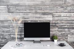 Creative designer workplace Royalty Free Stock Photo
