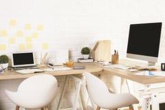 Creative designer workplace Royalty Free Stock Photos