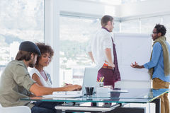 Creative designers working in a modern office Royalty Free Stock Photography