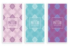 Free Creative Diamond Lines Pattern In Soft Colors Stock Photography - 152459302