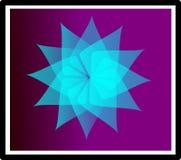 Creative digital logo and graphic icon. Stylish Abstract Digital bright color logo and graphic art icon Stock Photos