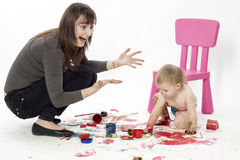 The creative disorder Stock Images