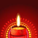 Creative diwali diya background vector illustration