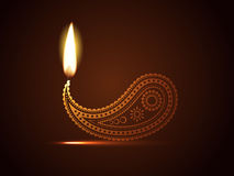 Creative diwali diya Royalty Free Stock Image