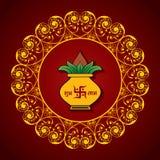 Creative Diwali greeting Royalty Free Stock Photo