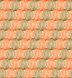 Creative drawn pattern. Seamless decorative netting background Royalty Free Stock Images