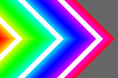 Creative dynamic abstract / glowing neon background vector illustration