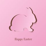 Creative Easter bunny stock illustration
