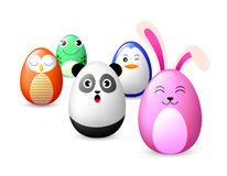 Creative Easter concept of eggs . Stock Images