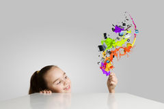 Creative education Royalty Free Stock Photography