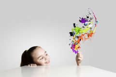 Creative education Royalty Free Stock Images
