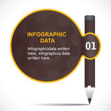 Creative educational Infographics Royalty Free Stock Photo